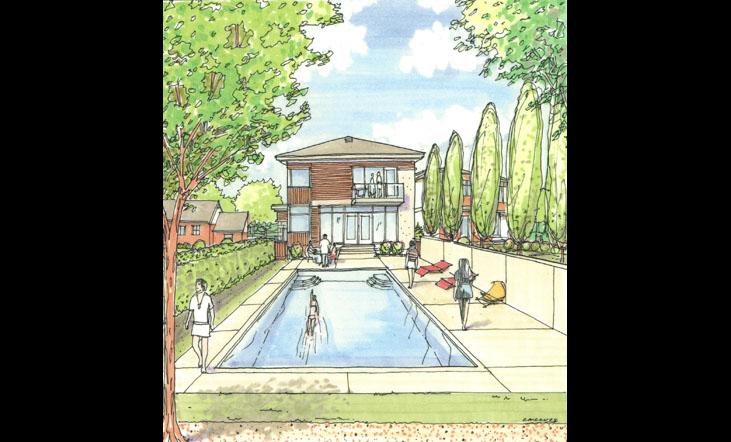 Ottawa swimming pools design for Pool design ottawa